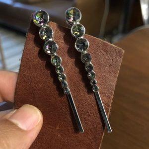 Galaxy multicolor rhinestone Bobby pin hair clips